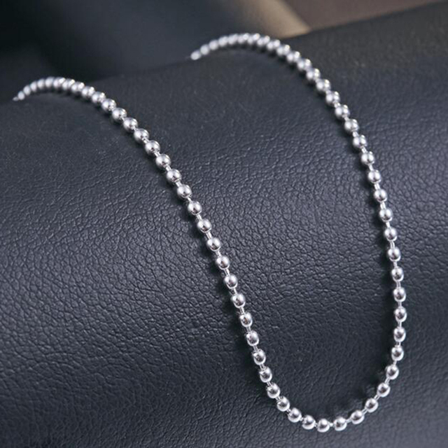 Classical Silver Anklet