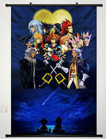 Kingdom Hearts Anime Fabric Wall Scroll Poster 18 X 24 Inches Japan Cosplay 024