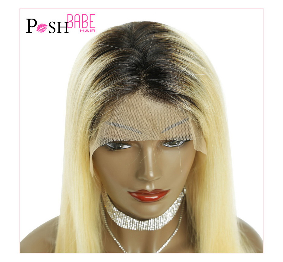 Blonde Lace Front Human Hair Wig (1)