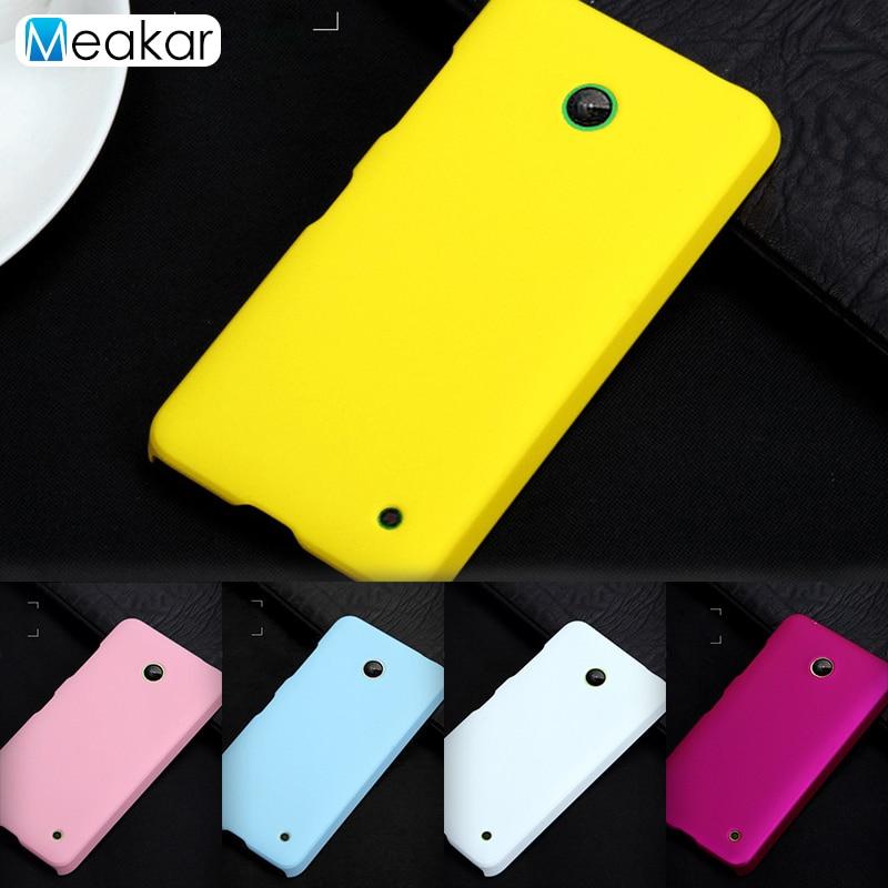Galleria fotografica Grind arenaceous Hard Plastic shell 4.5for <font><b>Nokia</b></font> Lumia 630 Case For Microsoft <font><b>Nokia</b></font> Lumia 630 Phone Back <font><b>Cover</b></font> Case