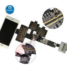 Qianli Ibridge Fpc Test Kabel Moederbord Fault Controleren Voor Iphone 6 6P 6S 6SP 7 7P 8 8P X Display Touch Fpc Voor Achter Camera
