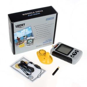Image 5 - English Menu Lucky FFW718 Wireless Portable Fish Finder 40M/120FT Sonar Depth Sounder Alarm Ocean River Lake