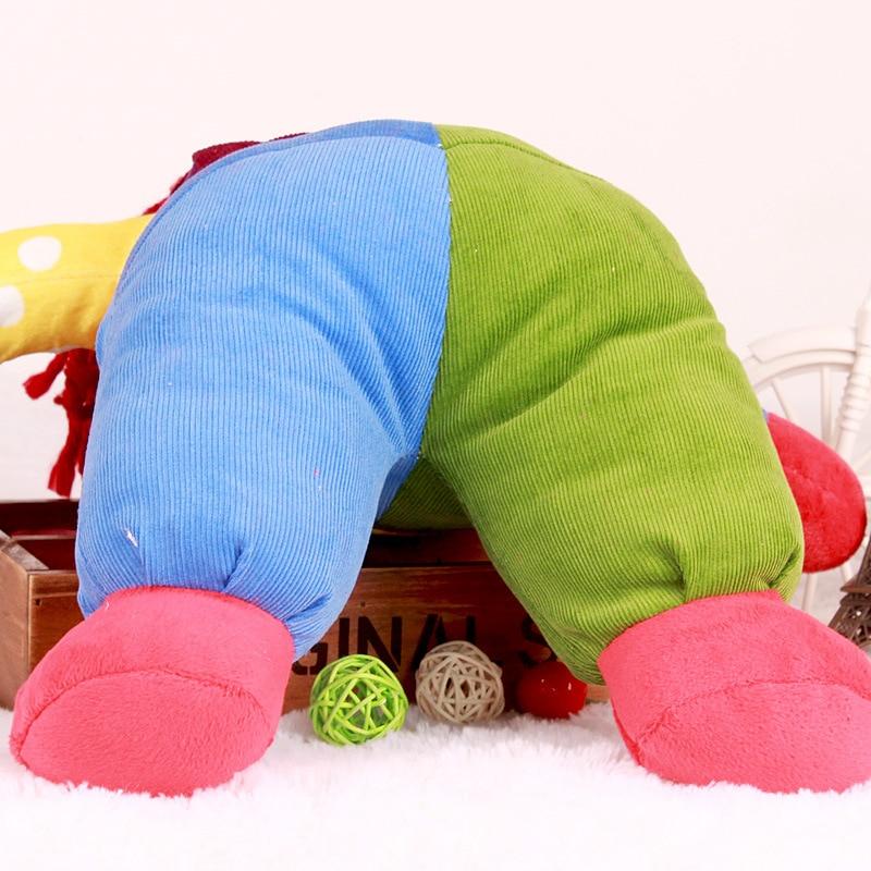 New The Joker Clown Plush Toys Cute Cartoon Favor Clown Soft Stuffed Dolls Baby Kids Sleeping Comfort Doll Party Xmas Birthday Gift 50cm (4)
