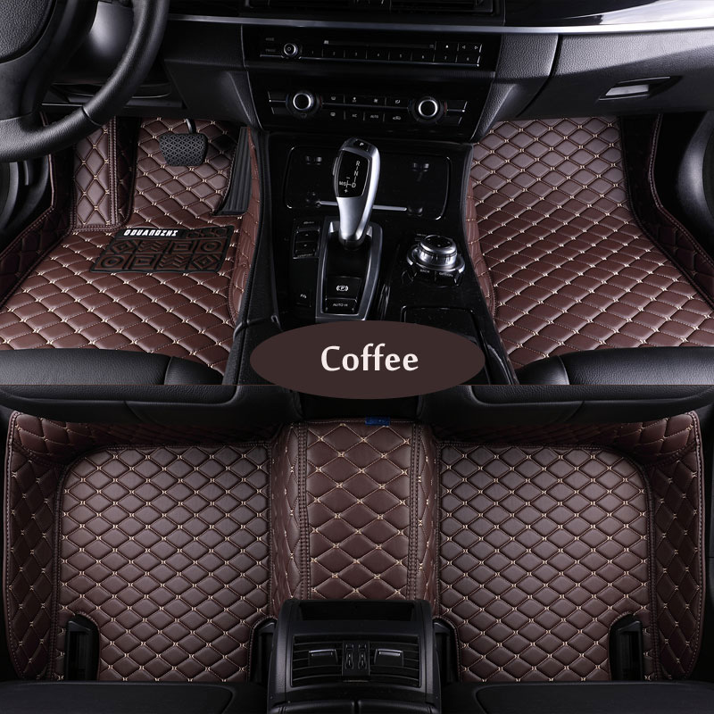 Custom fit car floor mats for Citroen C5 C4 Air Cross Picasso C2 C4L C-elysee DS5 LS 3d car styling carpet floor liner