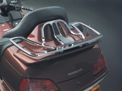 Aftermarket motorcycle Billet Aluminum Rear Trunk Lunggage Rack For Honda 2001-2012 Goldwing GL1800 CD