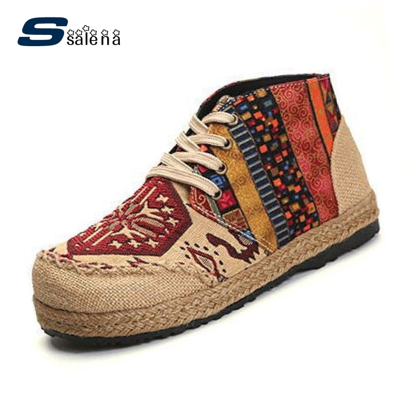 Fashion Women Flats New Design Embroidery Casual Shoes Women Comfortable Working Shoes AA20498 vintage embroidery women flats chinese floral canvas embroidered shoes national old beijing cloth single dance soft flats