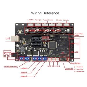 Image 3 - ANYCUBIC Motherboard 3D Printer TriGorilla Main board Compatible Mega2560 & RAMPS1.4 4 Layers PCB Controller Board for RepRap