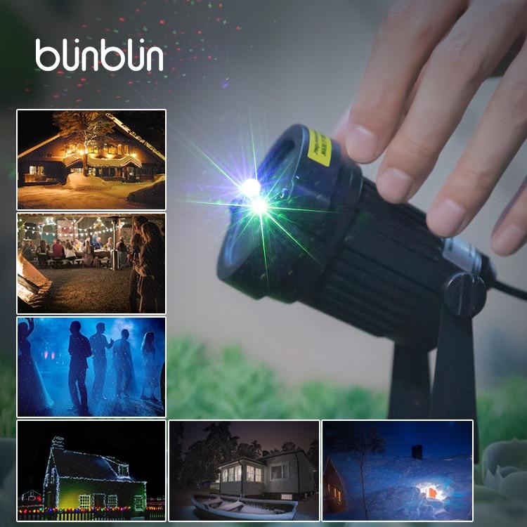 Blinblin san3 Festival Rot Grün Lichter Laser Projektor Lampen Wasserdicht Feuerfeste Low Temperatur Aktivierung