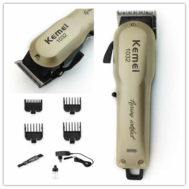 Kemei машинка для стрижки волос, электрический триммер для волос для мужчин, машинка для стрижки волос, стрижка, Парикмахерская Машинка, триммер для стрижки бороды 5