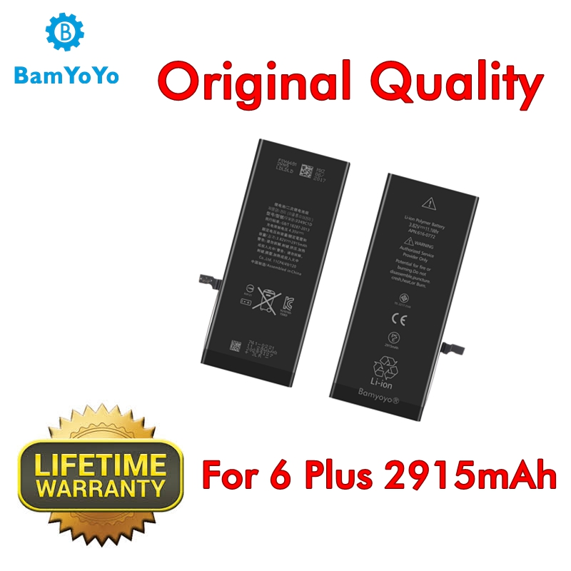 Battery iPhone Original-Quality 6-Plus Ce for 6p Internal Superior-Performance 0-Cycle