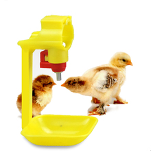 50Pcs Poultry Chicken Nipple Drinker Hanging Cups Pheasant Waterer Hang Farming equipment