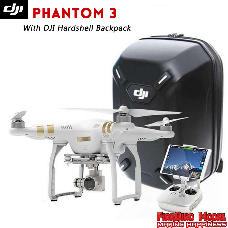 Dji phantom 3 Advanced / Professional with 2.7/4K hd camera &DJI Original Hardshell Backpack ,GPS system, FPV live video view