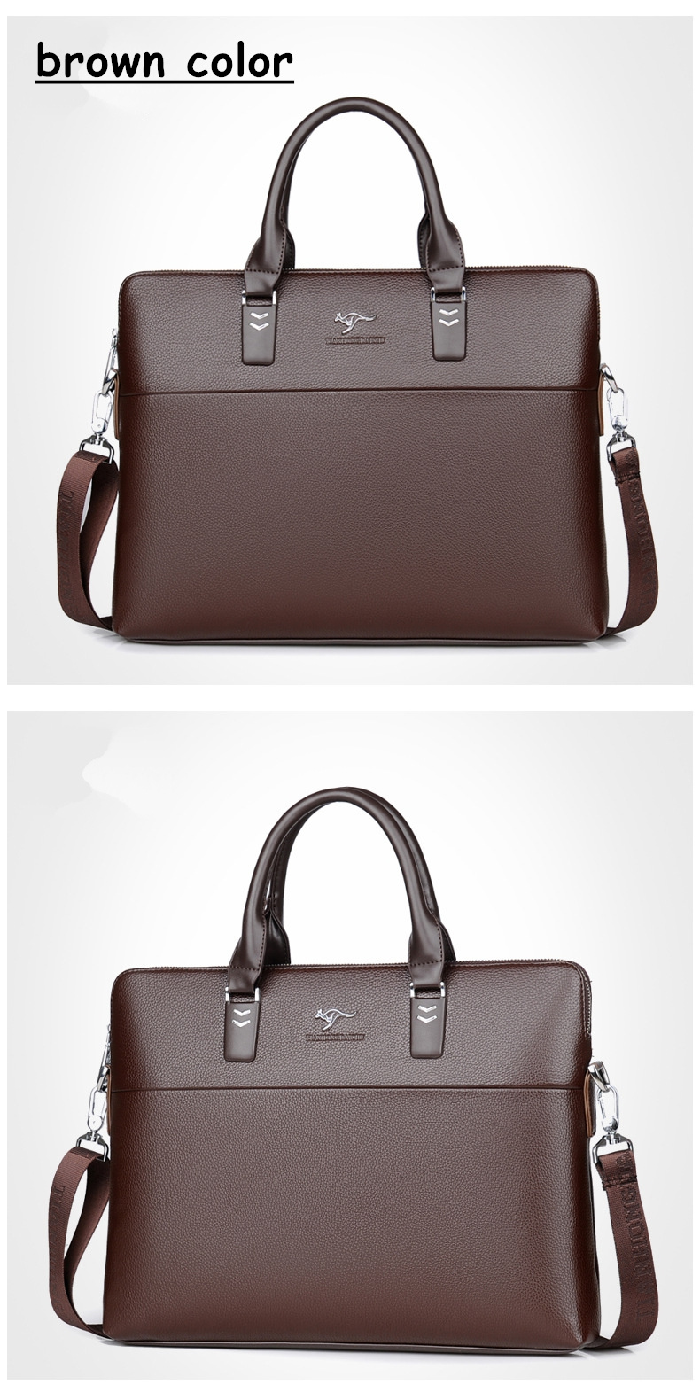HTB10zsRgDwKL1JjSZFgq6z6aVXaU TIANHONGDAISHU Men Casual Briefcase Business Shoulder Leather Messenger Bags Computer Laptop Handbag Men's Travel Bags handbags