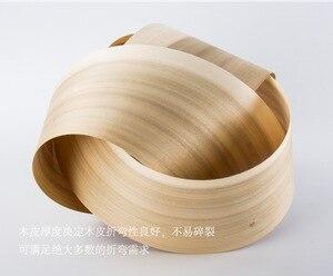 Image 2 - 1Piece Length: 2.5 meters  thickness:0.52mm  Width: 15cm  Natural Poplar Tree Wood Veneer Furniture Refurbished Veneer