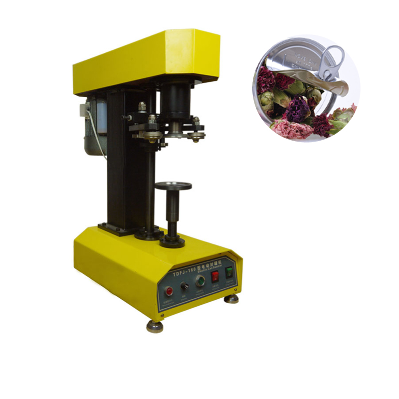 Cans Capping Machine Cans Sealing Machine Plastic Cans Electric Capper PET Plastic Tank Cover Pot Metal Machine shenlin stainless steel zip top ring pull pop top can meatal cap sealing capping machine aluminum tin cans food jar capper