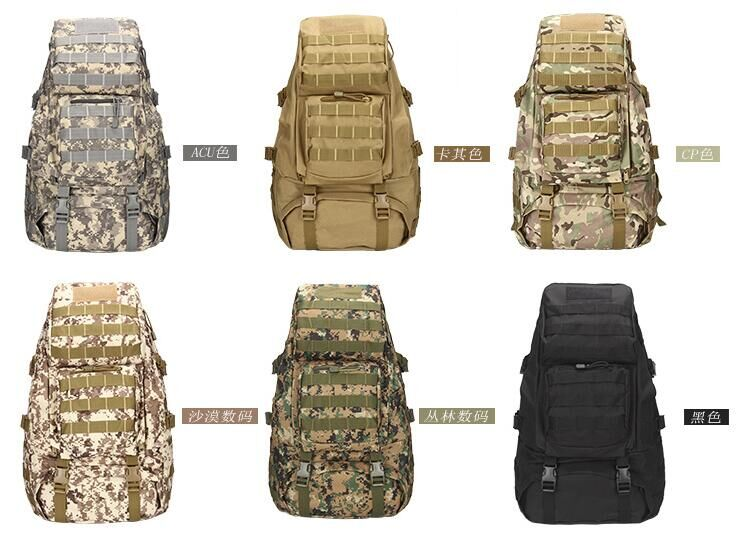ФОТО Utility Upgraded 45L Tactical Back Pack Military Army Molle Rucksack Pack Outdoor Hiking Camping Trekking Travel Backback Bag
