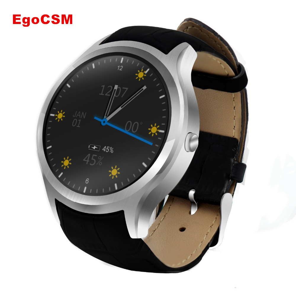 EgoCSM D5+ Smart Watch Android 5. 1 3G Smartwatch Phone MTK6580 Quad Core GPS Bluetooth 4.0 Wearable Devices For Men and Women dm368 android 5 1 3g smart watch phone black