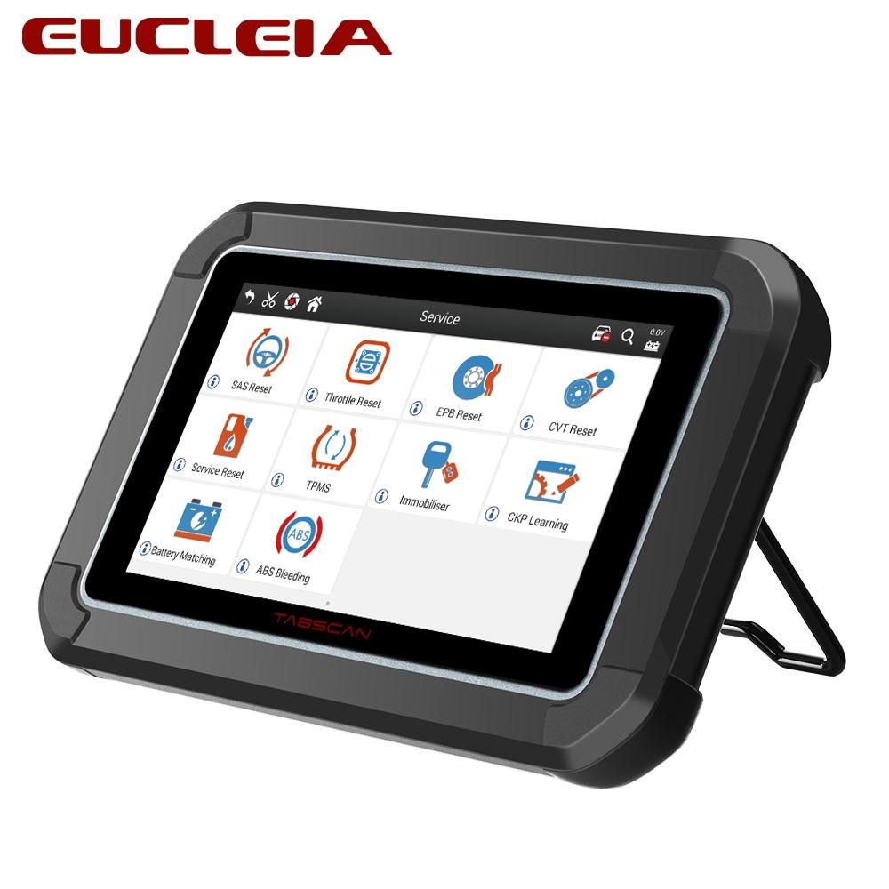 EUCLEIA TabScan S7C OBD 2 Automotive Scanner Professional Car Diagnosis DPF EPB TPMS Oil Service Reset