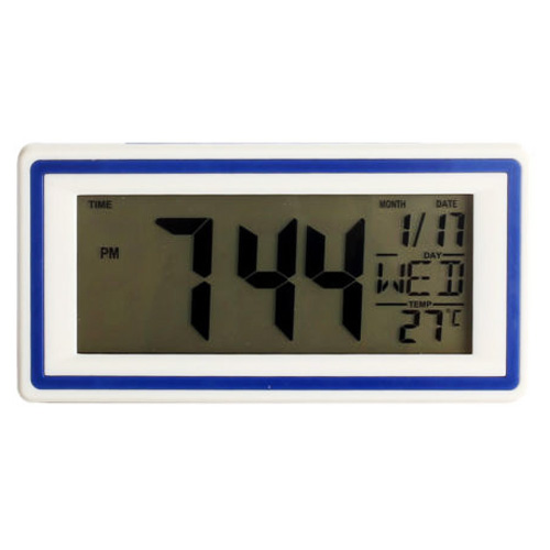 Smart Digital LED Alarm Clock with Thermometer Calendar Snooze New