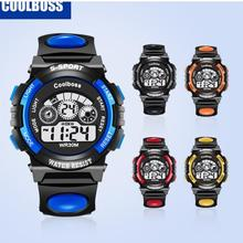 children's boys girls kids watch sport cartoon Luminous wate