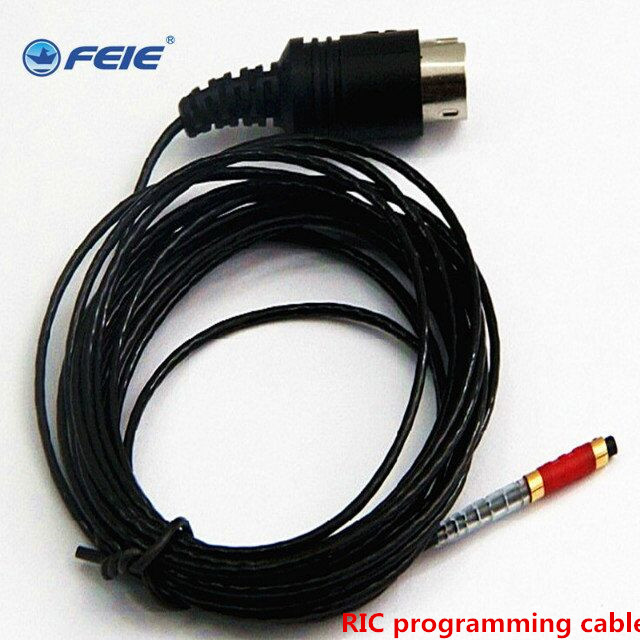 Hearing aid cables Accessories Programming wire used for digital CIC RIC BTE hearing aid programmer connection New Arrival Free new arrival original lotus 12sp hearing aids wireless bte hearing aid for siemens free shipping