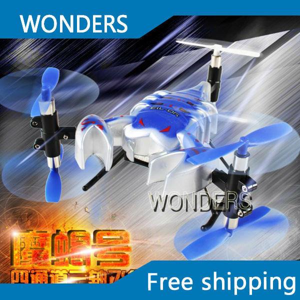 Do! Yd-713 seis eixos de controle remoto o escorpião rei modelo de aviação helicóptero inquebrável caindo acrobacias