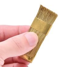 1Pc Manicure elektryczny wiertła do czyszczenia szczotka do czyszczenia wiertło do paznokci czyste narzędzie drut miedziany szczotka na wiertarkę wiertło dentystyczne Bit