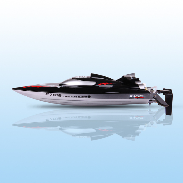 New Ft012 2 4g 4ch Remote Controlled Brushless Motor Racing Rc Boat 45 Km H Vs Ft011 Ft009 Ft007 Wl915