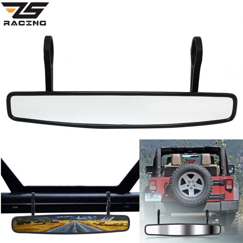 ZS Racing New ATV UTV Wide-angle Mirror Rear View Race Mirror With 1.75/2