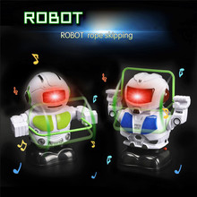 Electronic Rope Jumping Smart Bot Robot Astronaut Kids Music Light Toys For Chil