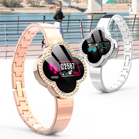 Women Smart Watch Android IOS Hombre Timethinker S6 Lady Smartwatch Reloj Blood Pressure Heart Rate Monitor Fitness Tracker IP67