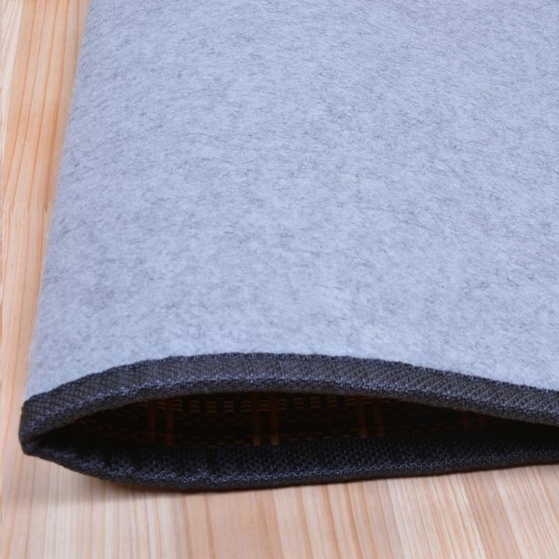 Japāņu grīdas bambusa paklāja spilventiņš ar lielu izmēru - Mājas tekstils - Foto 6