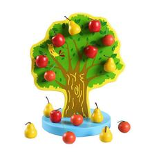Fruit Tree Toy with Magnetic Pears for Kids Best Gift Orchard string fruit tree