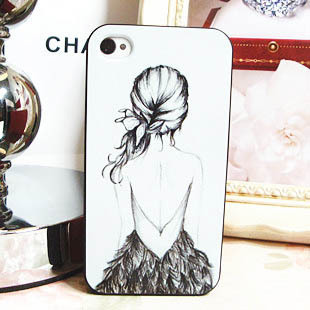 Vintage british style for girl for iphone 4 4s phone case for apple case protective shell