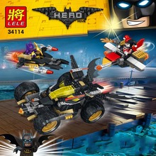 513pcs The new batman chariots chase building blocks toys Compatible with legoed super heroes best building blocks toys for kids