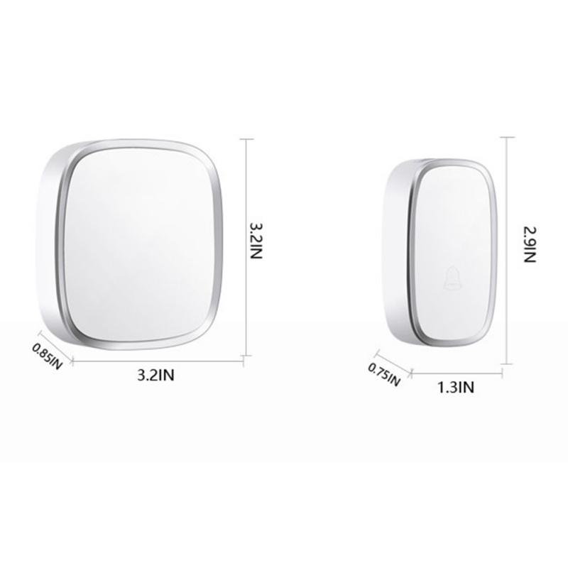 Wireless And Music Doorbell Remote For Home Control Waterproof Wireless Remote Control Doorbell