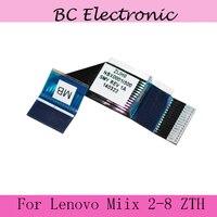 100% original Genuine toque cabo Flex Para Lenovo Miix 2-8 ZIJH0 NBX0001I500 display LCD flex cable peças de reposição