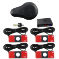 Original Flat Car Parking Reverse Sensor Kit with Buzzer Alert WITHOUT Display 4 Point 13mm Parking Sensor Fit All Cars