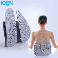 LOEN Creative Massager Back Lumbar Waist Support for Car Seat / Office Chair Seat Supports for Back Seat Lumbar for Car