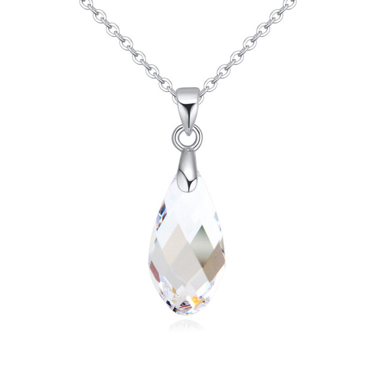 New arrival crystals from swarovski water drops pendant necklace new arrival crystals from swarovski water drops pendant necklace bijoux for women gift in pendant necklaces from jewelry accessories on aliexpress aloadofball Images