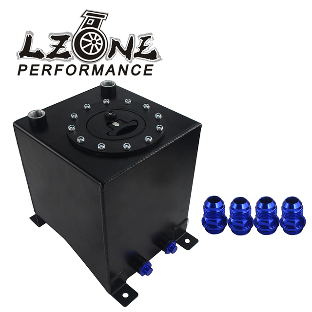 LZONE - Fuel surge tank Mirror polish high quality Fuel cell 10L without sensor JR-TK13