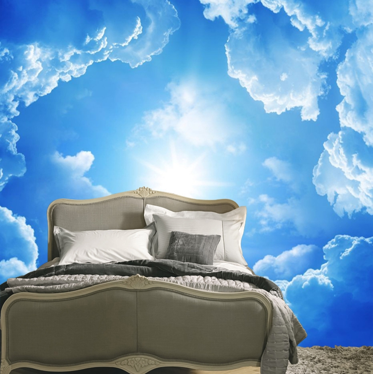 Aliexpress com   Buy 2014 Sale Wallpapers Sky And Clouds Background  Wallpaper Woven Wall Sticker Bedroom Modern Minimalist Natural Landscape  Mural from. Aliexpress com   Buy 2014 Sale Wallpapers Sky And Clouds