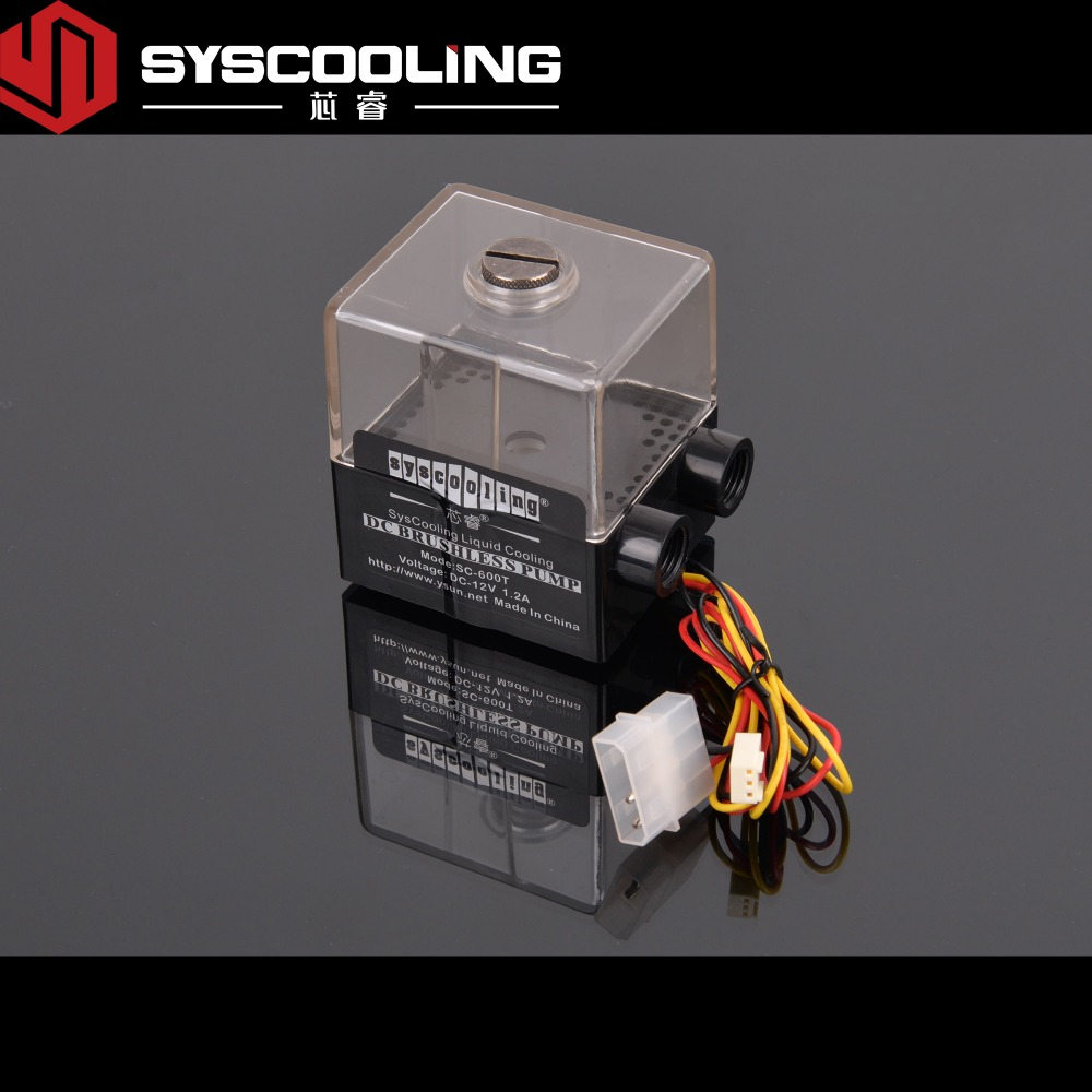 все цены на SC-600T  Syscooling high performance water cooling pump 650L/H онлайн