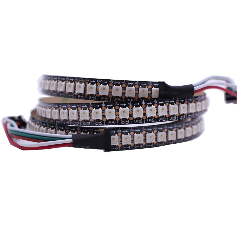 new arrivals 9b360 1799e 1m 12mm PCB 144leds WS2812B 144 LEDs/M 5050 RGB Chip WS2811 IC Digital 5V  LED Strip Light non-Waterproof