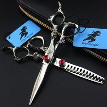Freelander 6 inch Hair Cutting Thinning Scissors Set Kapper Hairdressing Shears Makas Scharen Tijeras Peluquero