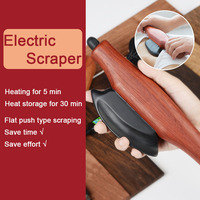 Electric Hot Stone Needle Scraping Board Scraping Knife Heating Scraper Rib GuaSha Instrument for Massage Meridian Gua Sha Tool