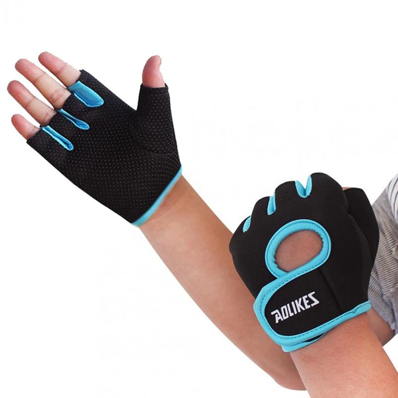 Aolikes sporta sporta ķermeņa ēkas treniņš svara celšanai Crossfit cimdi vīriešiem sporta cimdi hanteles sporta cimdi HBK001