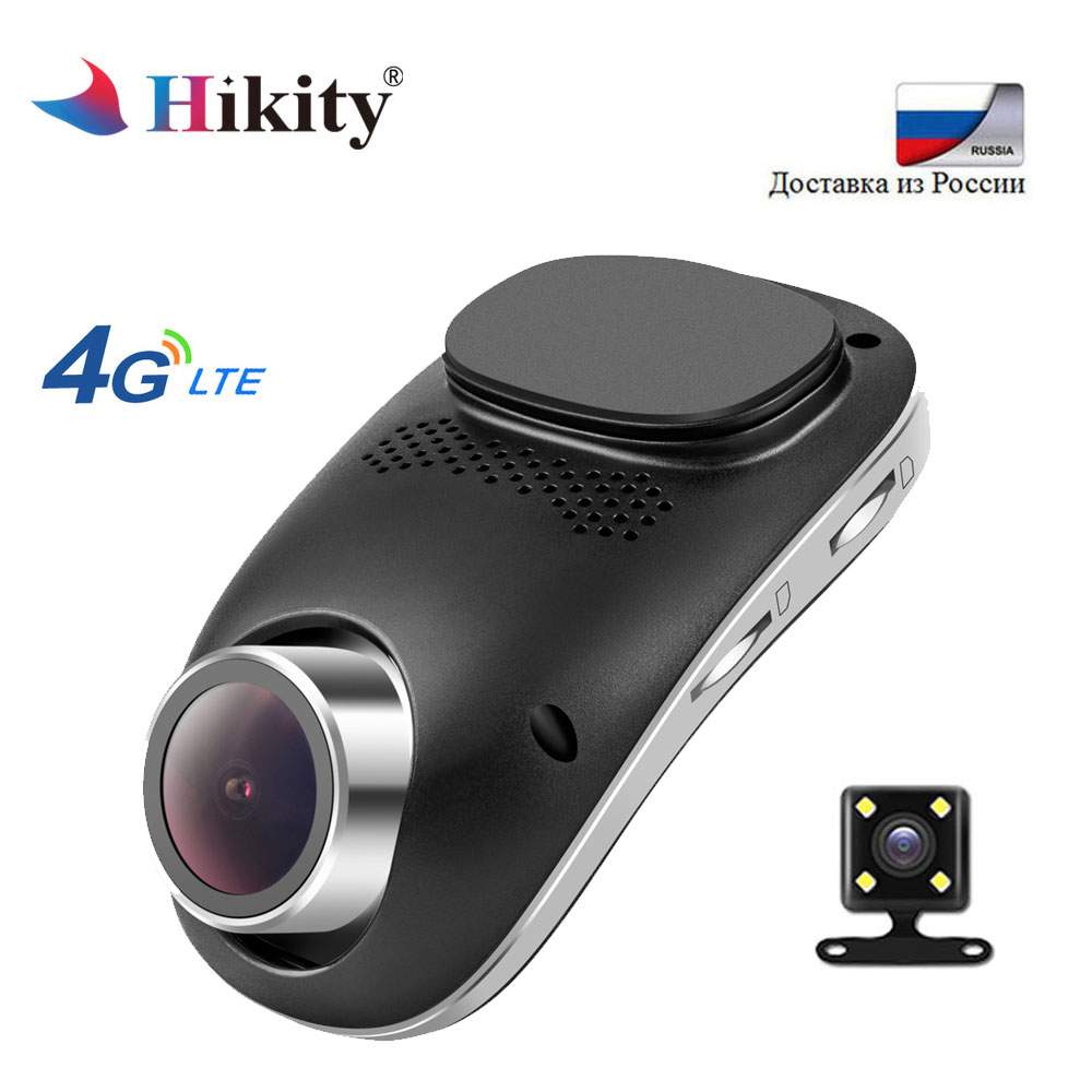 Hikity 4G Dash Camera Android GPS ADAS Dashcam Dual Lens Camara Automovil Night Vision Auto Full HD Car Dvr Wifi video Registrar
