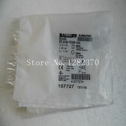 [SA] New original special sales BALLUFF sensor switch BES M12MI-PSC40B-S04G spot --5PCS/LOT dhl ems 1pc new for ball uff bes m12mf gsc30b s04g