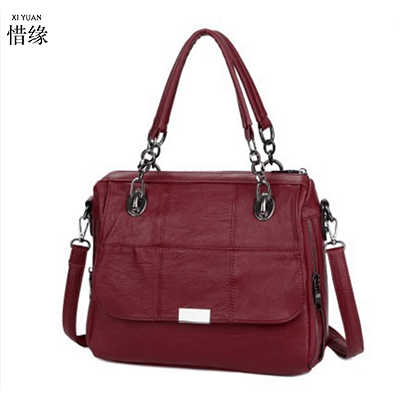 XIYUAN BRAND Bolsas Femininas 2017 Designer Handbags High Quality Casual Women Handbags Sac Femme Tote Ladies Shoulder Hand bag handbags women trapeze bolsas femininas sac lovely monkey pendant star sequins embroidery pearls bags pink black shoulder bag